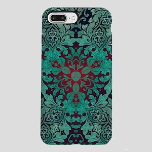 bohemian chic green man iPhone 8/7 Plus Tough Case