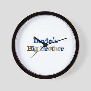 Devin's Big Brother Wall Clock