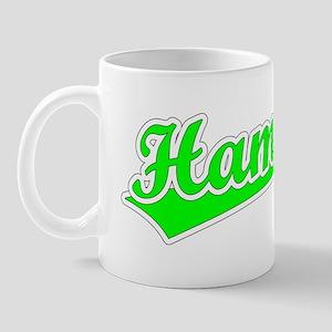 Retro Hamza (Green) Mug