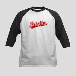 Retro Tristin (Red) Kids Baseball Jersey