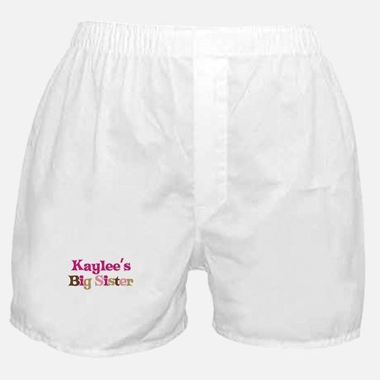 Kaylee's Big Sister Boxer Shorts