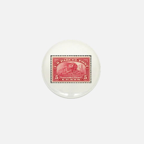 Stamp collecting Mini Button