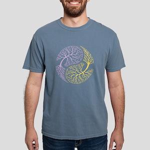 Yin Yang Tree 1 Women's Dark T-Shirt