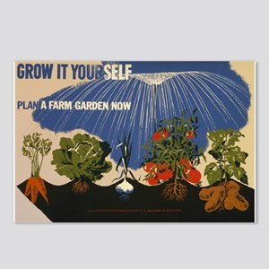 Sustainability Gardening Postcards (Package of 8)