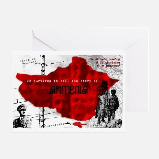 Armenian Genocide Greeting Card