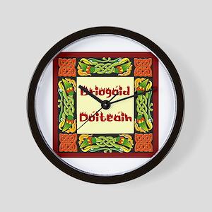 Dáithí Athey Briogáid Dóiteái Wall Clock