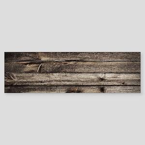 rustic barnwood western country Bumper Sticker