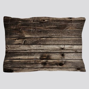 rustic barnwood western country Pillow Case