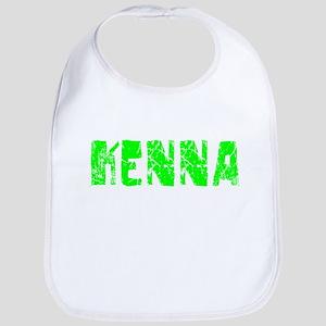 Kenna Faded (Green) Bib