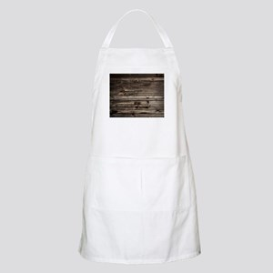 rustic barnwood western country Light Apron