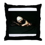 I've been bad Throw Pillow