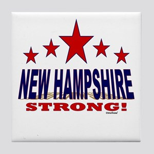New Hampshire Strong! Tile Coaster