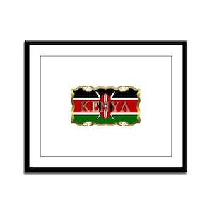 Kenya - Framed Panel Print