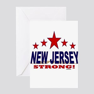 New Jersey Strong! Greeting Card