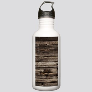 rustic barnwood wester Stainless Water Bottle 1.0L