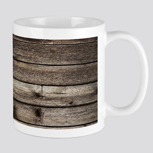 rustic barnwood western country Stainless Ste Mugs