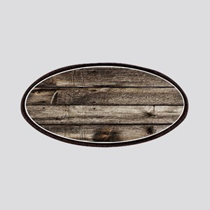 rustic barnwood western country Patch