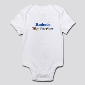Kaden's Big Brother Infant Bodysuit
