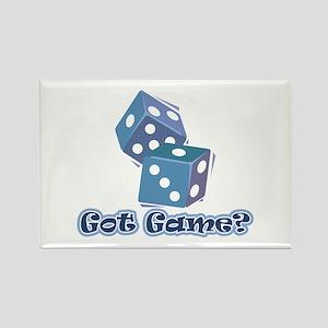 Got Game? (dice) Rectangle Magnet