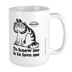 To Know Me Is To Love Me Large Mug