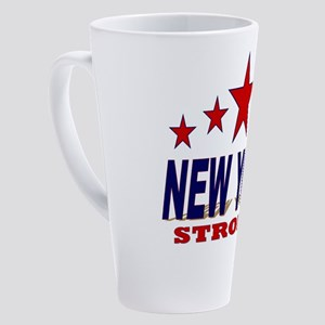 New York Strong! 17 oz Latte Mug