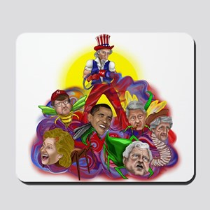 Republican Uncle Sam Mousepad