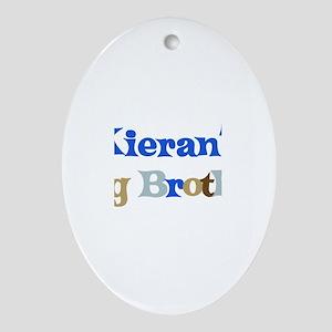Kieran's Big Brother Oval Ornament