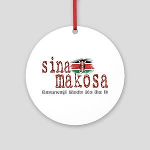 Sina Makosa - Ornament (Round)