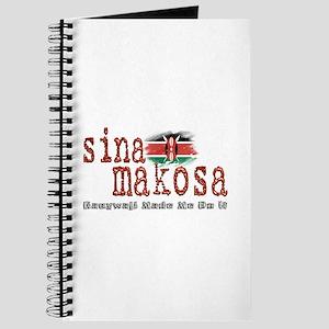 Sina Makosa - Journal