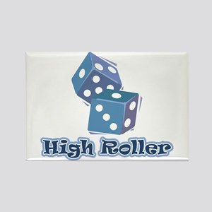 High Roller Rectangle Magnet
