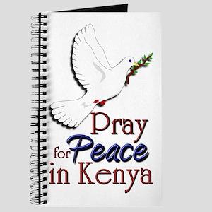 Pray for Peace in kenya - Journal