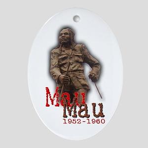 Mau Mau Hero - Oval Ornament