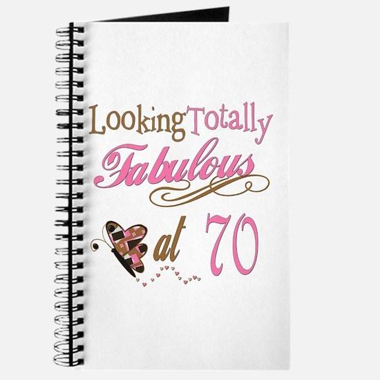 Fabulous 70th Journal