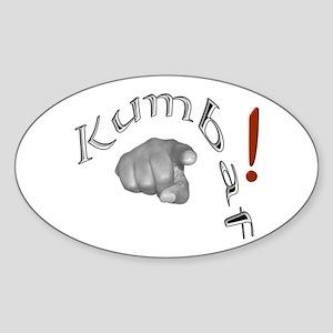 Kumbaf! - Oval Sticker