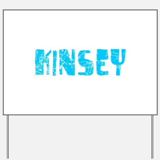Kinsey Faded (Blue) Yard Sign