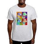 Greyhound dog art Ash Grey T-Shirt