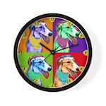 Greyhound dog Wall Clock