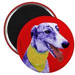 Greyhound dog art 2.25