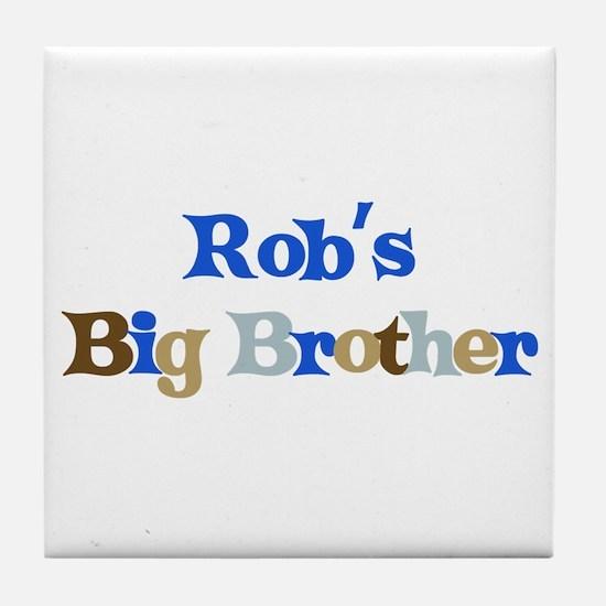 Rob's Big Brother Tile Coaster