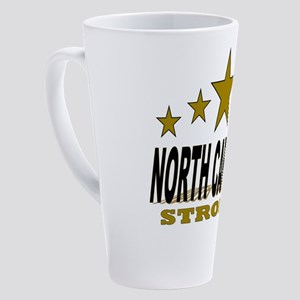 North Carolina Strong! 17 oz Latte Mug