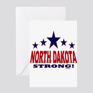 North Dakota Strong! Greeting Card