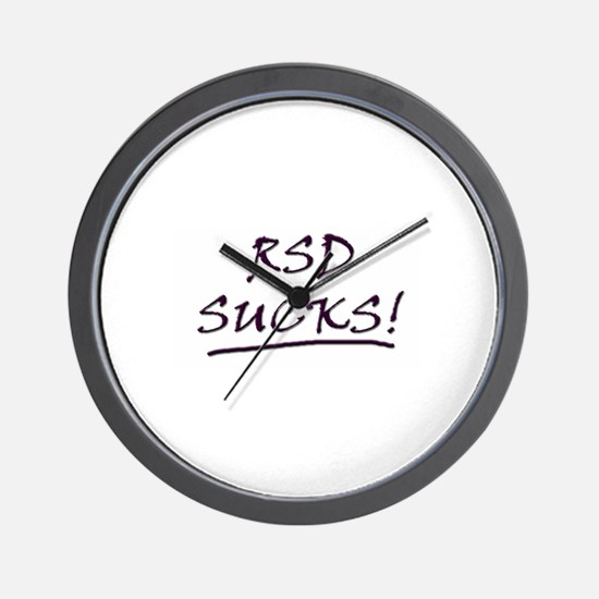 RSD Sucks Wall Clock