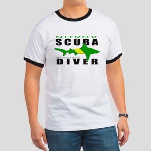 Scuba Diver: Nitrox Shark T-Shirt