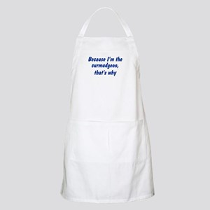 I'm The Curmudgeon BBQ Apron