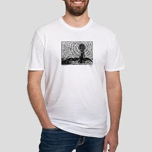 Vierge d'Orisson - True Pilgrim Fitted T-Shirt