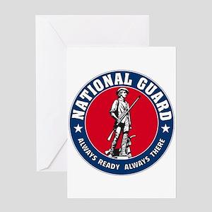National Guard Logo Greeting Card