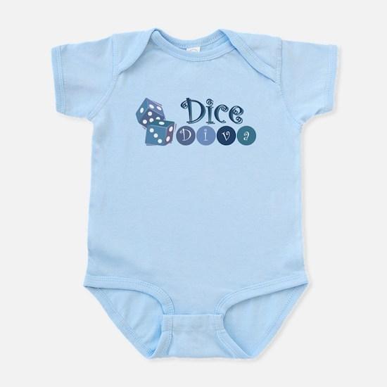 Dice Diva Infant Bodysuit