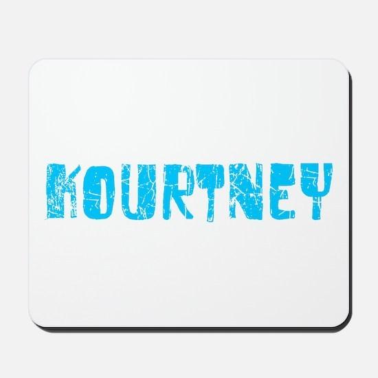 Kourtney Faded (Blue) Mousepad