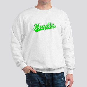 Retro Haylie (Green) Sweatshirt