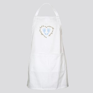 Adding Two Feet (blue) BBQ Apron